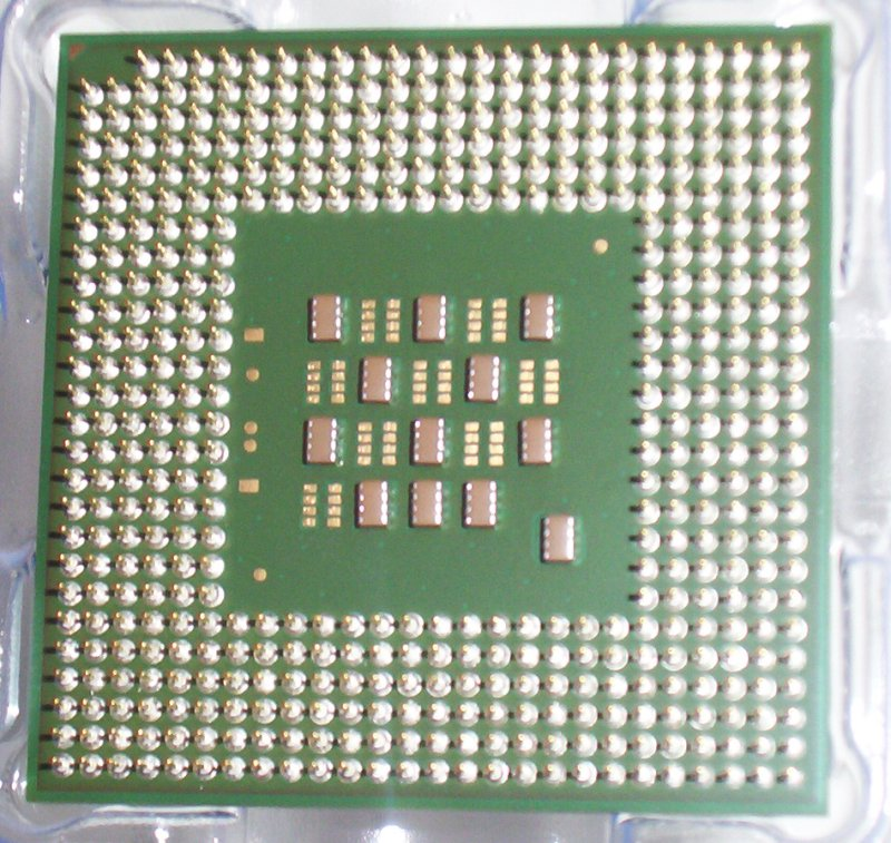 Intel Pentium4 2.8C Ghz 512K 800FSB S478 - CPU close up