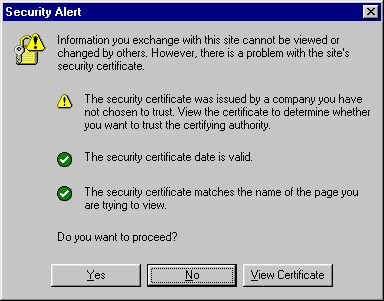 Security Alert - the right name